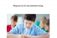 Årsrapport 2016 for Klagenævnet for Specialundervisning - forside