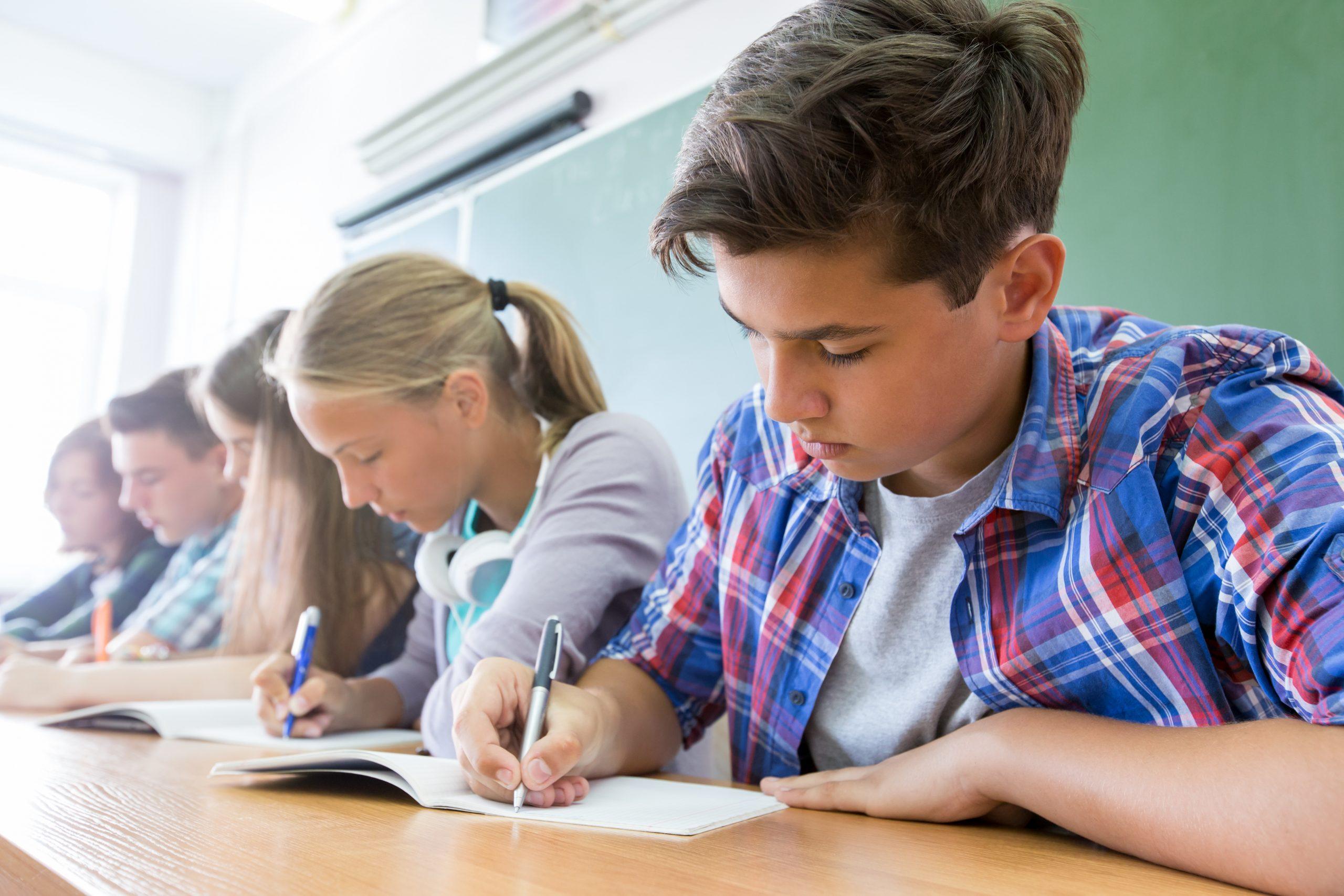 Støtte på ungdomsuddannelse